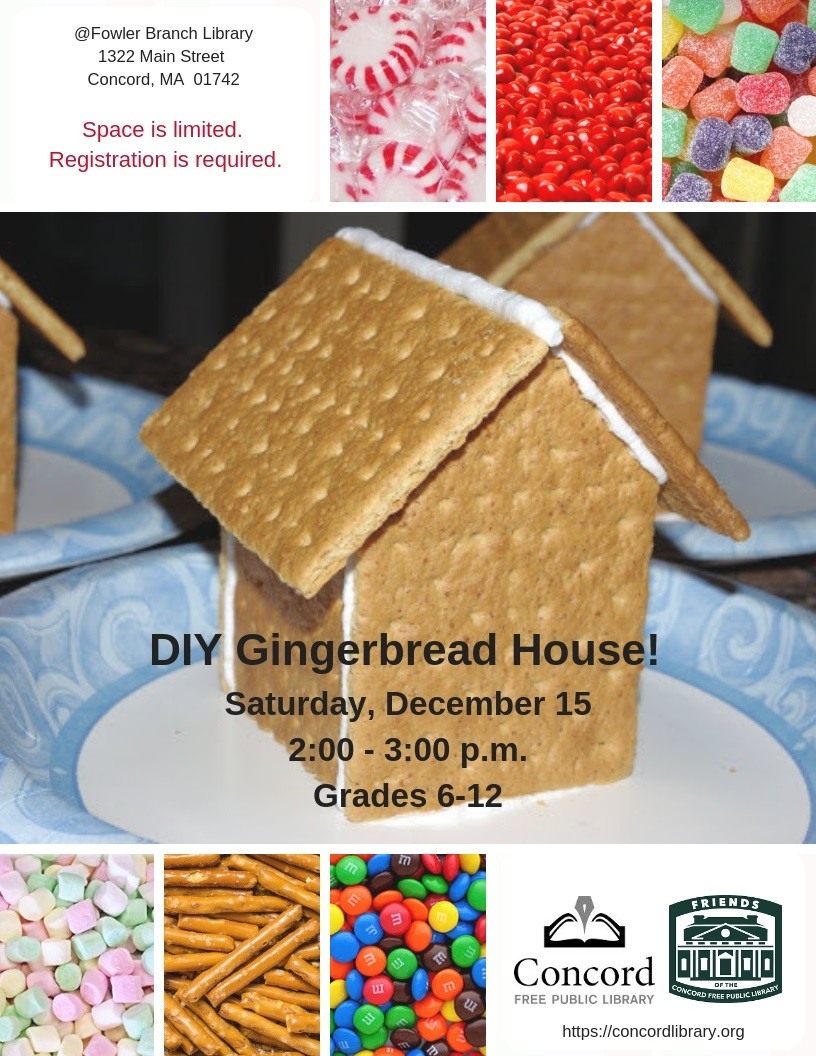 Diy Gingerbread House Living Concord